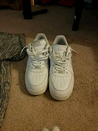 White air force 1s 12.5