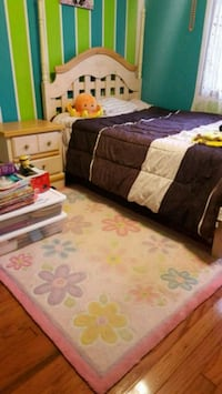 Full size bedroom set with rug (no mattress) Coon Rapids, 55433
