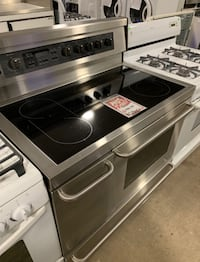 """✌Used electric glasstop 40"""" Kenmore double oven - Farmingdale"""