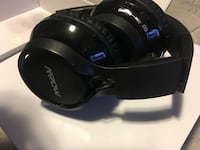 black Mpow headphones