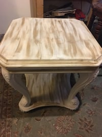 End tables refinished in Dixie Bell paints