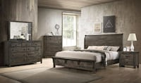 King bedroom set (only $54 down) Dallas, 75237