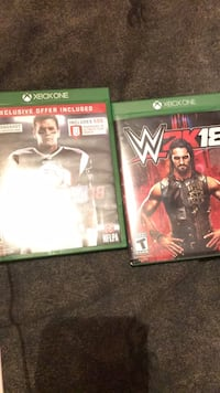 two Xbox One game cases Houma, 70363