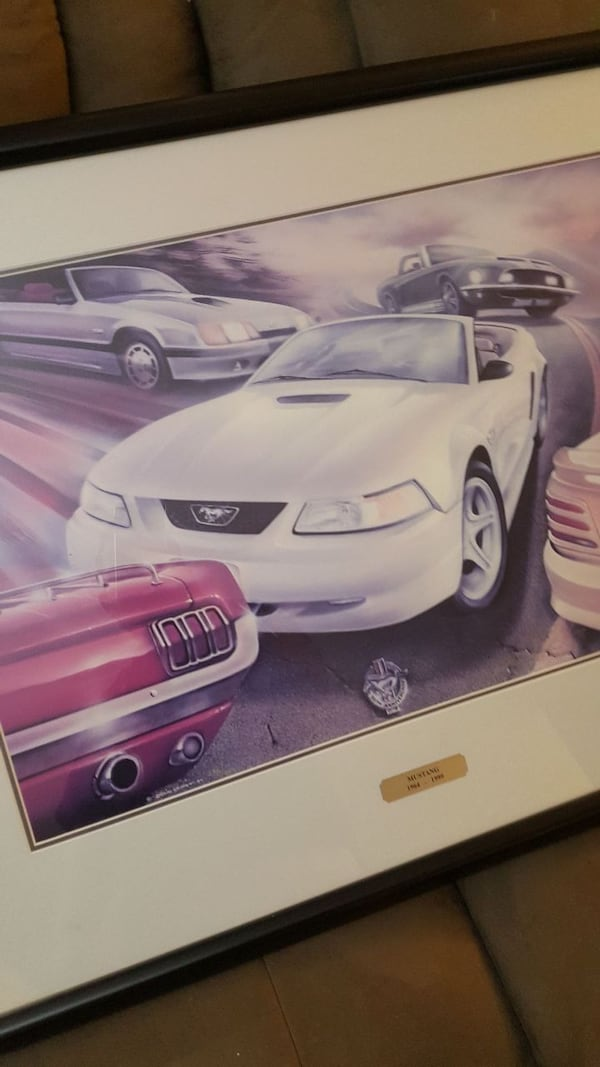 Ford Mustang limited print 1964 to 1999 707ea91b-68ec-4f03-941a-98ce6c0cfea1
