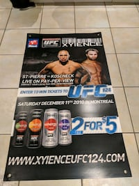 UFC. Poster From Mac's Toronto, M9C