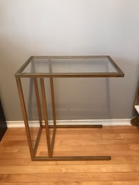 Ikea glass-top side table Toronto, M9R 3M4