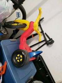 toddler's red and yellow trike North Las Vegas