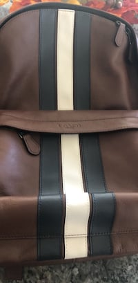 black and gray leather tote bag 2060 mi