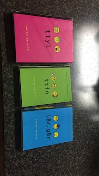 three Lauren Myracle books Ridgeley, 26753