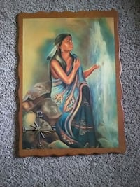 Large Indian clock picture Brookston, 47923