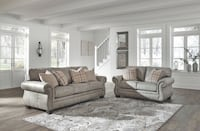 gray fabric 3-seat sofa Alexandria, 22309