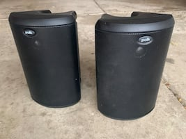 Pair (2) of Polk Audio Atrium 45 Outdoor / Indoor Speakers