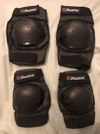Razor youth Elbow and knee pads  Burnaby, V3N 2M9