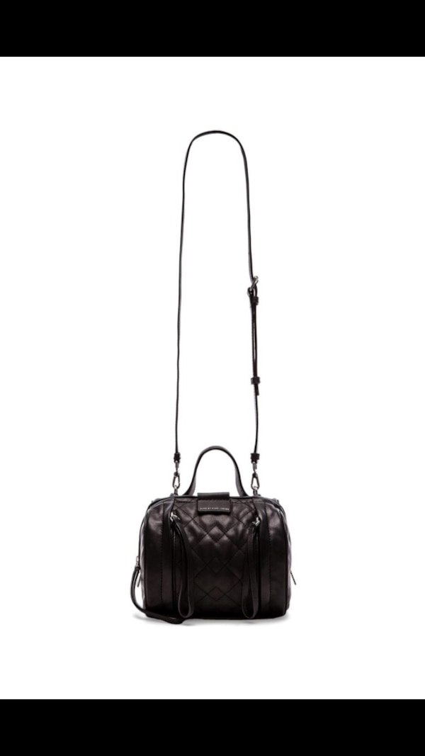 72259ca982 1/3. 1/3. Tap to see more pictures. Swipe to see more info. Marc by Marc  Jacobs Moto Quilted Barrel Bowling Bag