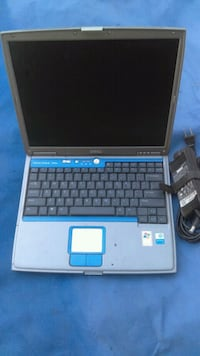 black and blue HP laptop Los Angeles, 90744