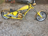 Yellow and black cruiser motorcycle Columbia