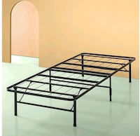 Twin metal bed frame Lucketts, 20176