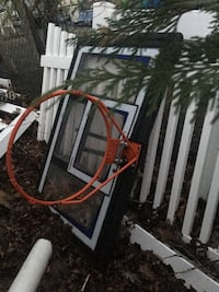 2 basket ball hoops one back board broken have replacement  Sayville, 11782