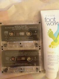 Tapes & avon foot cream Zanesville, 43701