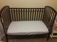Infant bed with all 4 rails