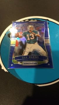 Dan Marino Great American Hero Card Great Mills, 20619