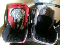 baby's red and black car seat carrier Huntsville, 35803