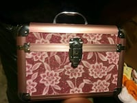 white and pink floral leather handbag Rialto, 92376