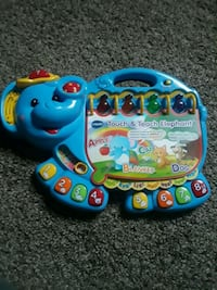 blue and yellow Vtech learning toy Woodbridge, 22191