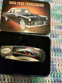 1956 Ford Mustang folding knife with case Parkersburg, 26104