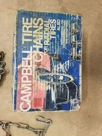 Tire chains 15 inch Mansfield, 44906