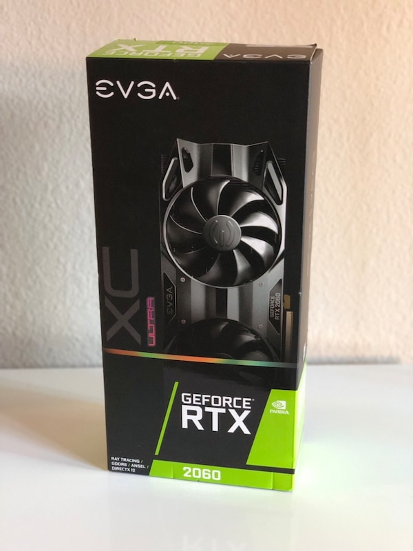 EVGA - GeForce RTX 2060 XC ULTRA GAMING 6gb