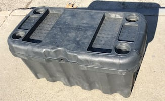 Pickup Truck Tool Box Black