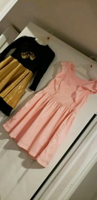 women's pink and white sleeveless dress Vaughan, L4H 2L3