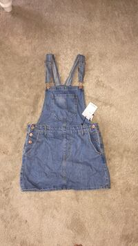 Cute Forever 21 denim overall mini dress Bowie, 20720