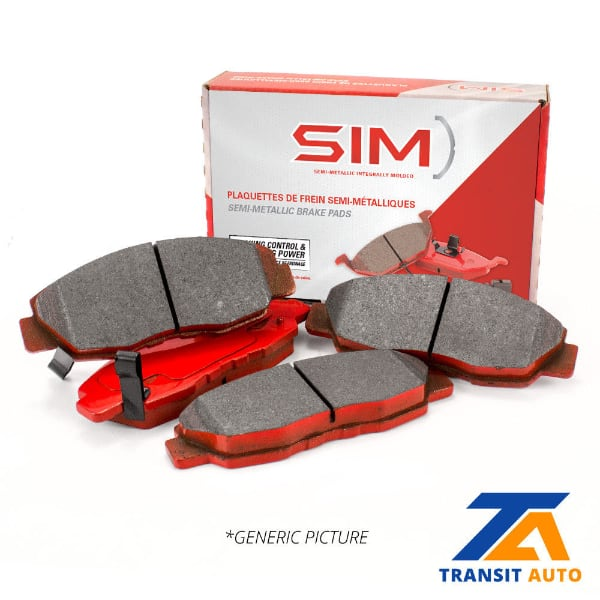 SEMI METALLIC BRAKE PADS .PRICE FROM $39.99 & UP.FOR A QUOTE PLEASE ME