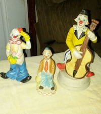 Clown Knic Knacs... $2.00 each or 3 for $5.00... Struthers, 44471