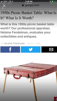Very rare picnic basket with the legs Bear, 19701