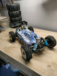 RC buggy car truck losi 4.0 8ight E
