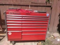 red Snap-On tool cabinet Stockton, 95210