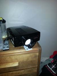 "Projector HD66 1080p and 72"" screen Cannington"