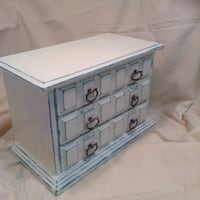 Decorative musical jewellery box by we chalk paint - mccharles creations