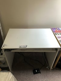 White desk with built in drawer  London, N6B 2B2