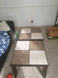 2 stone coffee/ end tables