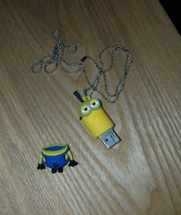 Minion flash drive with chain  Manchester, 17345