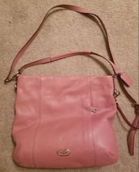 pink leather Michael Kors crossbody bag WASHINGTON