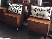 Mid Century Side Tables Set Of 2 Tacoma, 98402