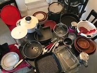 Dishes, pots, pans, bowls and more Sterling, 20166