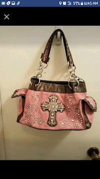 Pink cross purse Tulsa, 74133