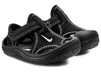 Sunray protect Nike baby sandals black 3c new Toronto, M3N
