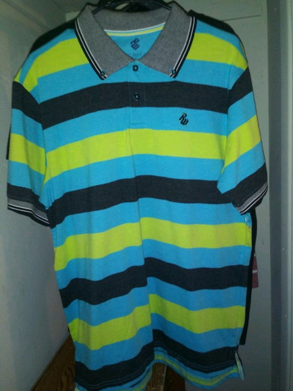 f990149eec Blue And Green Striped Polo Shirt - Best Picture Of Blue Imageve.Org
